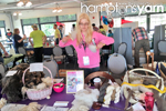 Amanda Schaefer crochetier/fiber artist of Hamptons Yarn Eastern Long Island Mini Maker Faire 2016