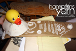 Amanda Schaefer - Hamptons Yarn - Hampton Bays Civic Association 2020 Duckie Day Fundraiser Best Decorated Duck Contest