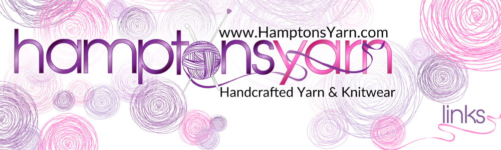 Hamptons Yarn handspoun handmade from raw fiber to fnished luxury yarn