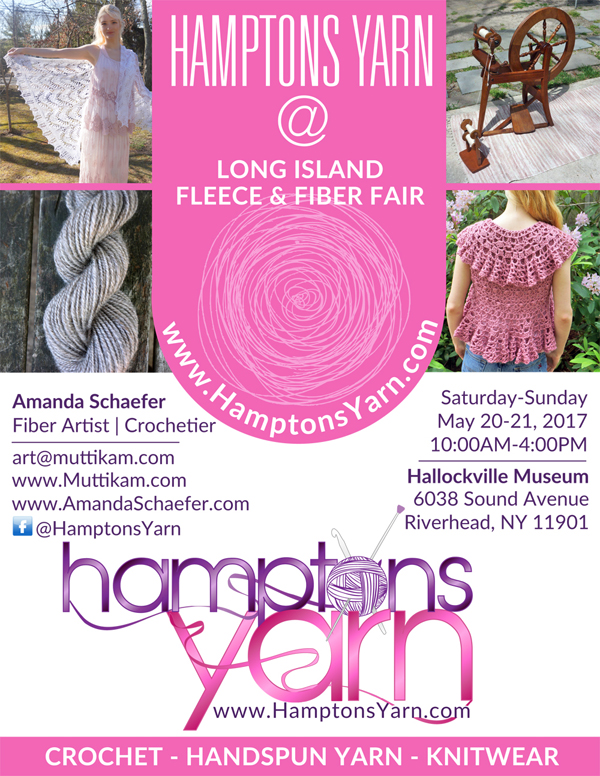 Hamptons Yarn at Long Island Fleece and Fiber Fair 2017